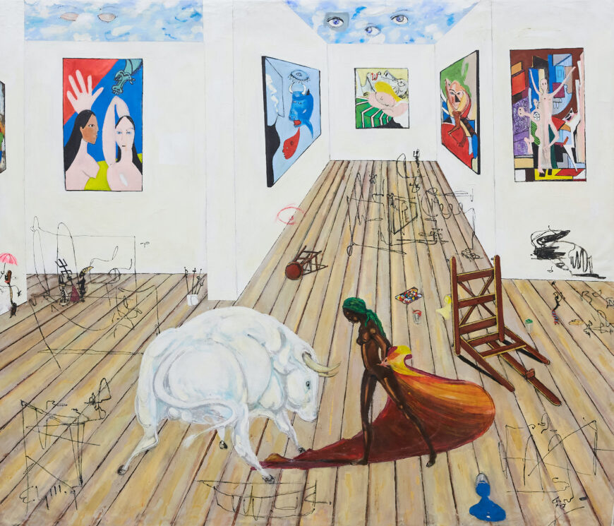Ealy Mays Cleaning Up Picasso's Studio